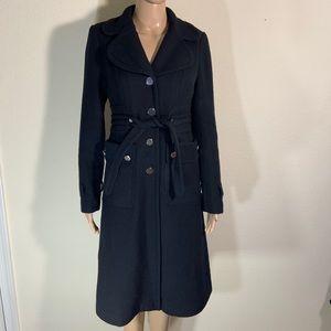 Anthropologie Elevenses Wool Pea Coat 2